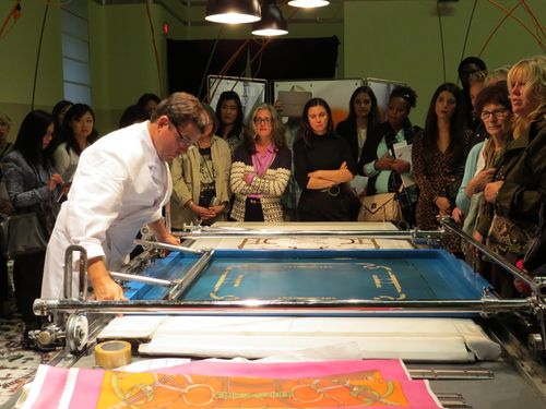 Silk screen printer