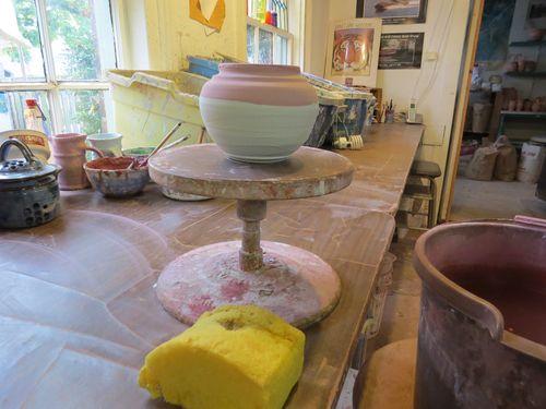Ceramic wheel