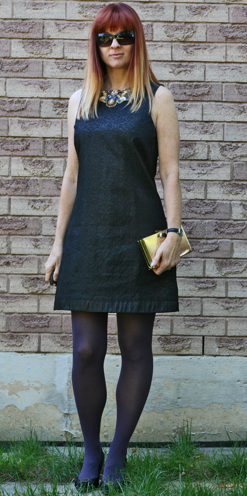 Black aline dress consignment store Consignment store shopping tips