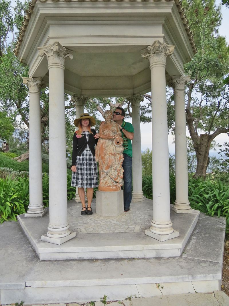 Villa rothschild garden france