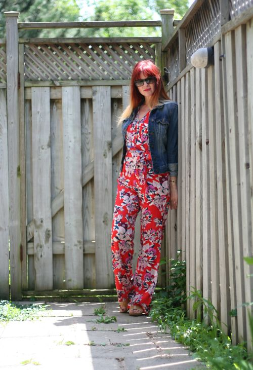 How to wear a patterned jumpsuit over 40 how to wear a romper suzanne carillo style files
