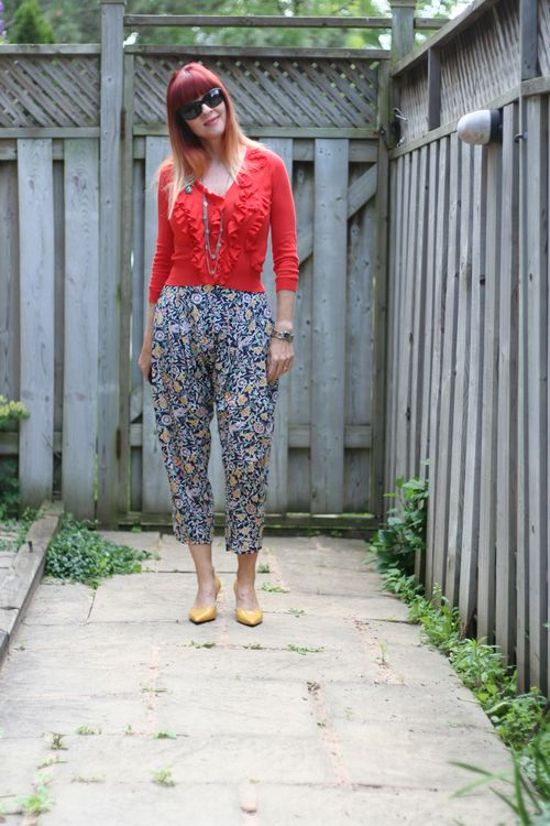 How to wear high waisted silk harem pants suzanne carillo style files