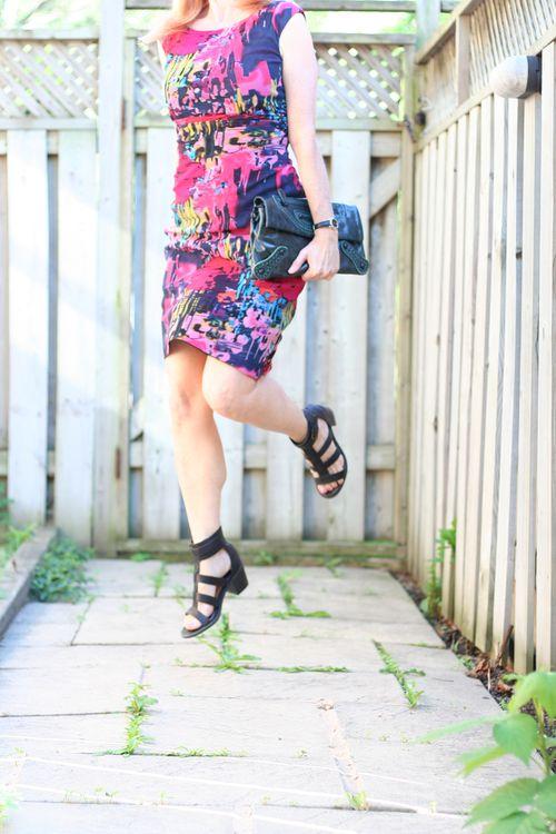 Fun tango move dress for tango dancing