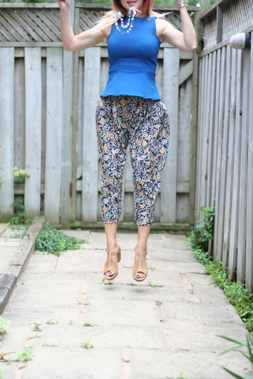 Can harem pants make you fly? suzanne carillo style files