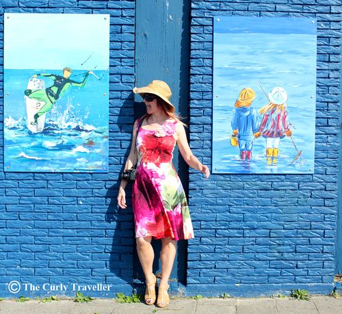 Suzanne carillo the netherlands blue art wall