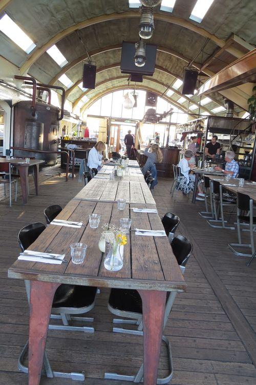 Pier 13 restaurant in a boat amsterdam suzanne carillo style files