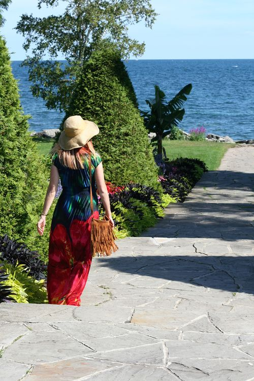 How to wear a maxi dress in summer suzanne carillo style files