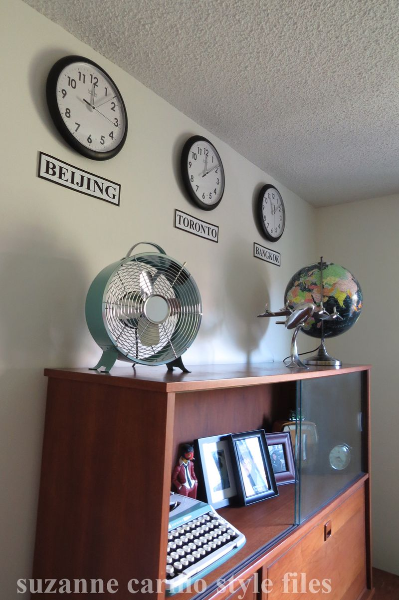 Men's office home decorating idea suzanne carillo style files