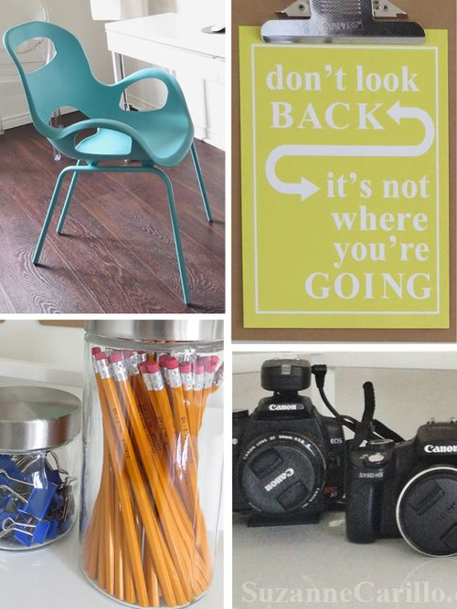Easy home office recorating ideas suzanne carillo style files
