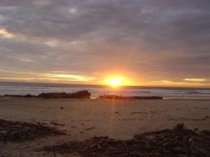 santa teresa costa rica sunset