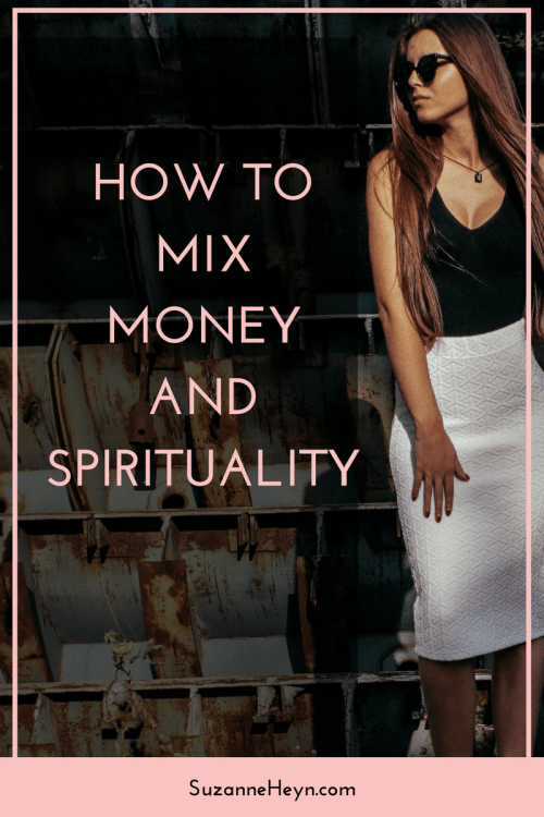Click through and learn how to mix money and spirituality. Receive abundance, inspiration and mindful tips to be happy and live your destiny.