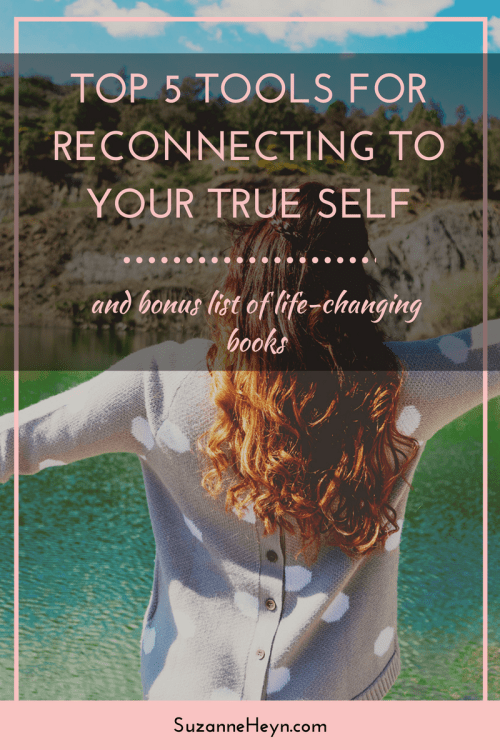 Discover simple tools to reconnect with yourself fast. Click through to read and also download a bonus list of 8 life-changing books to read. Including some you've never heard of!
