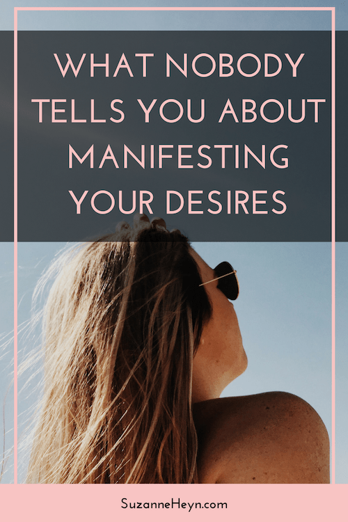 Pin now, read later! The ultimate guide to manifesting your desires. How to create your dreams and feel happy and at peace while connecting to the universe as a spiritual being.