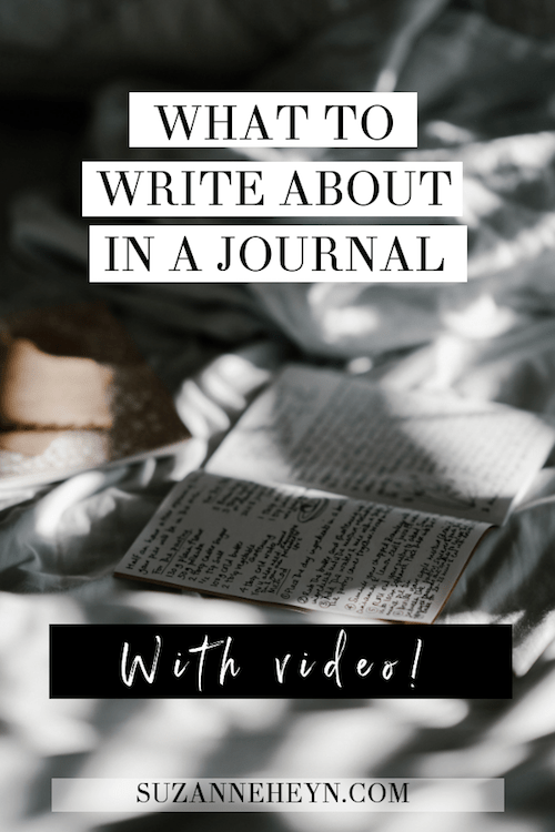 what to write about in a journal for spiritual growth, personal development, find your life purpose and manifest your dreams.