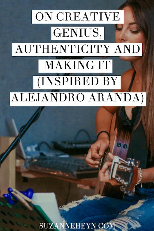 creativity Alejandro Aranda soulful