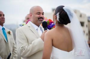 Cabo wedding hair and make-up trend - Big Bun