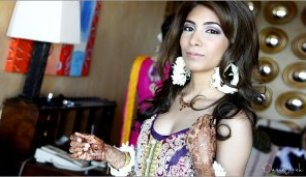 Indian Pakistani wedding hair and make-up Cabo