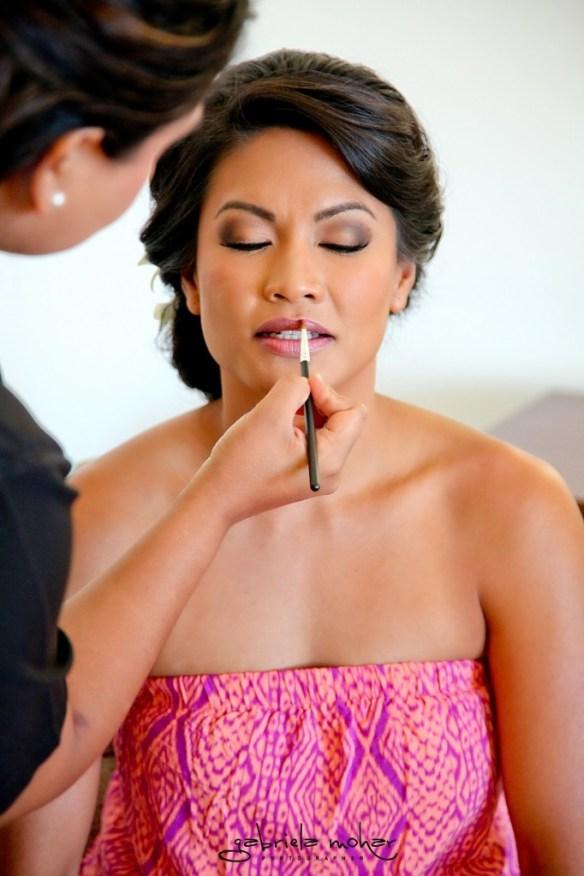 Cabo bridal makeup