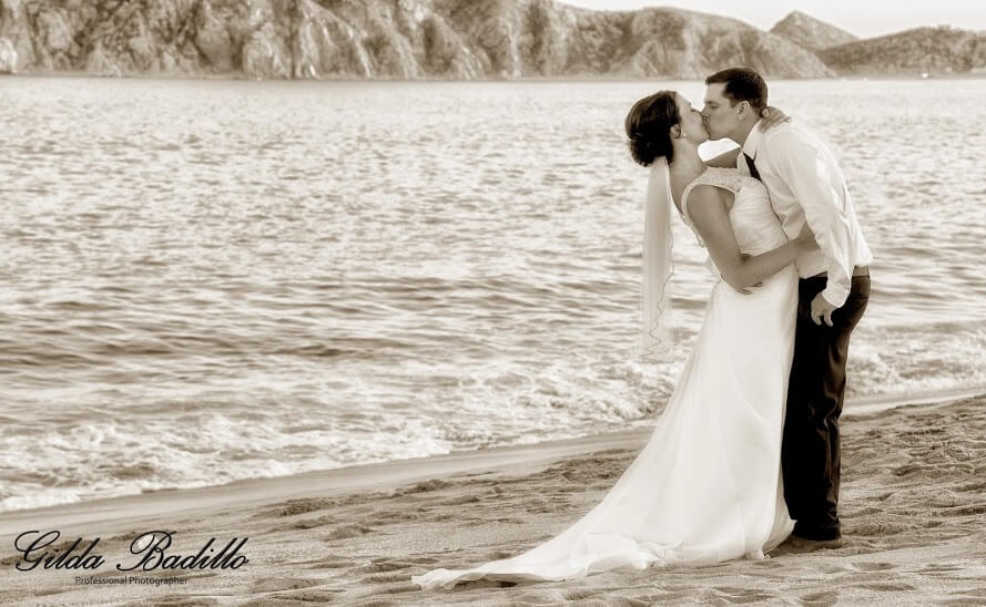cabo wedding picture