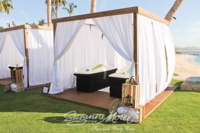 Private villa spa party