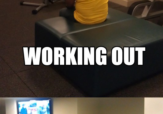 Working Out is the Devil