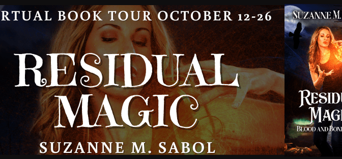 Residual Magic Virtual Book tour