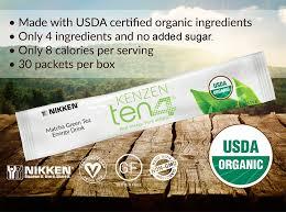 organic matcha green tea natural caffeine energy no sugar!