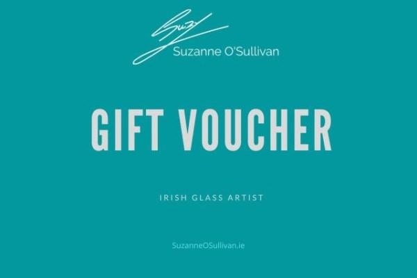 Irish Glass Art Gift Voucher
