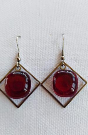 Glass Earrings