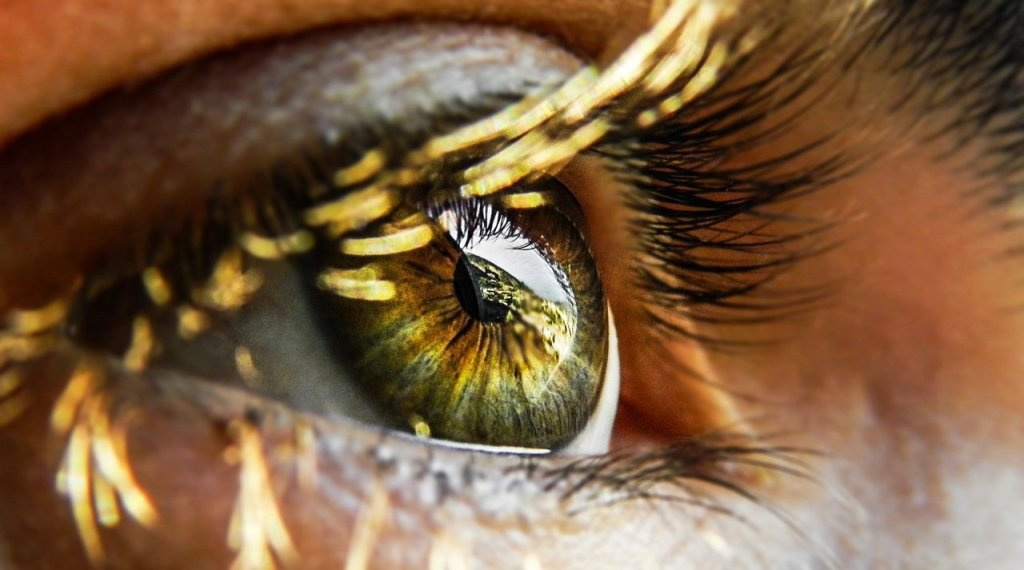 Close-up of eye   Sci-Fi