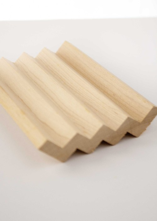 Suzanne's Soaps LLC wooden soap dish