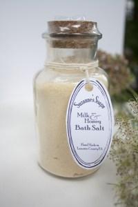 Suzanne's Soaps Mike & Honey Bath salt