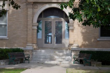 Side elevation sealed doorway