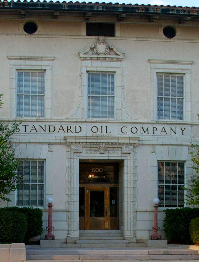 entrance detail Standard Oil Co