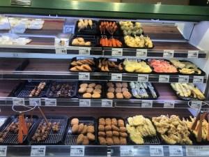 歌島店の惣菜コーナー