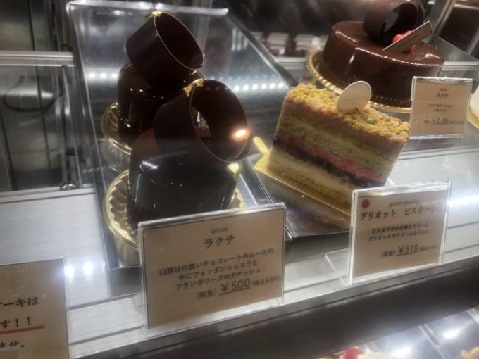 ケーキショウケース上段