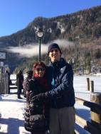 Rocio and Tom at Lake Kongssee