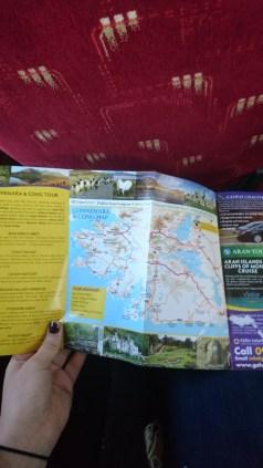 Bus tour map