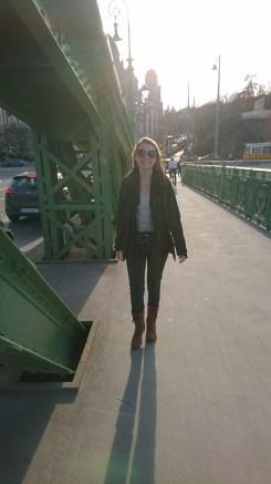 Crossing the Liberty Bridge
