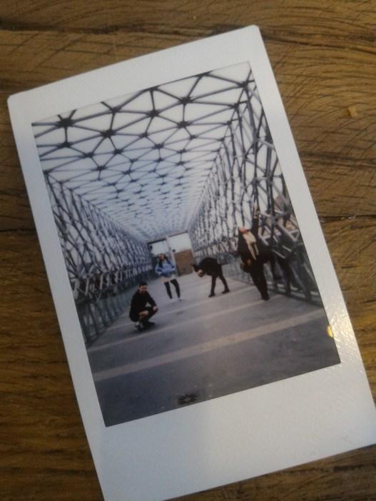 Polaroid on the Zsolnay bridge