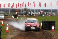 SS6 and things start to go wrong... Courtesy of M&H Photography