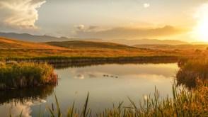 Sunrise in Wyoming