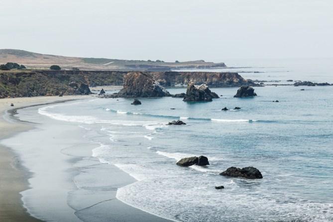Rugged seascape