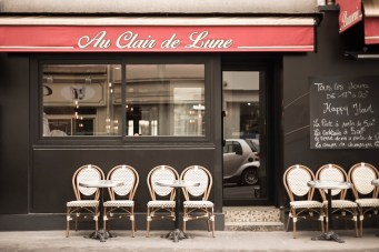 French Cafe in Paris
