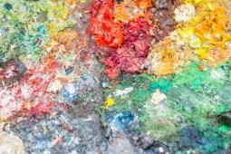 Painters pallet, Montmartre Paris
