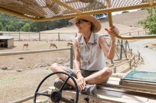 Leslia Thalman, Safari West Guide