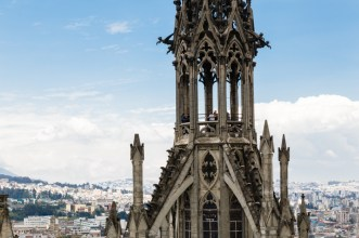 Basílica del Voto Nacional, Roman Catholic church in the historic center of Quito, Ecuador