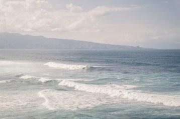 Surfers at Ho'okipa Beach Maui