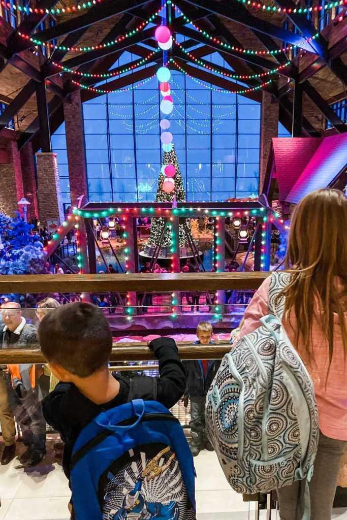 Gaylord Rockies Christmas Lobby