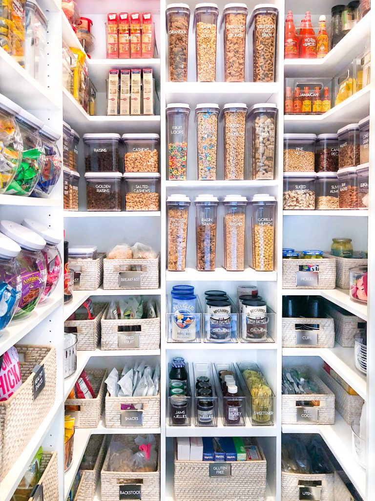 Khloe Kardashian's Pantry Design from The Home Edit.
